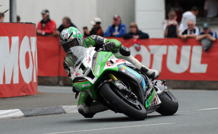 TT - isle of man - Kawasaki