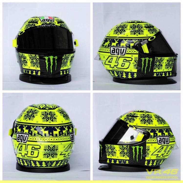 Nowy kask Rossiego na motoGP