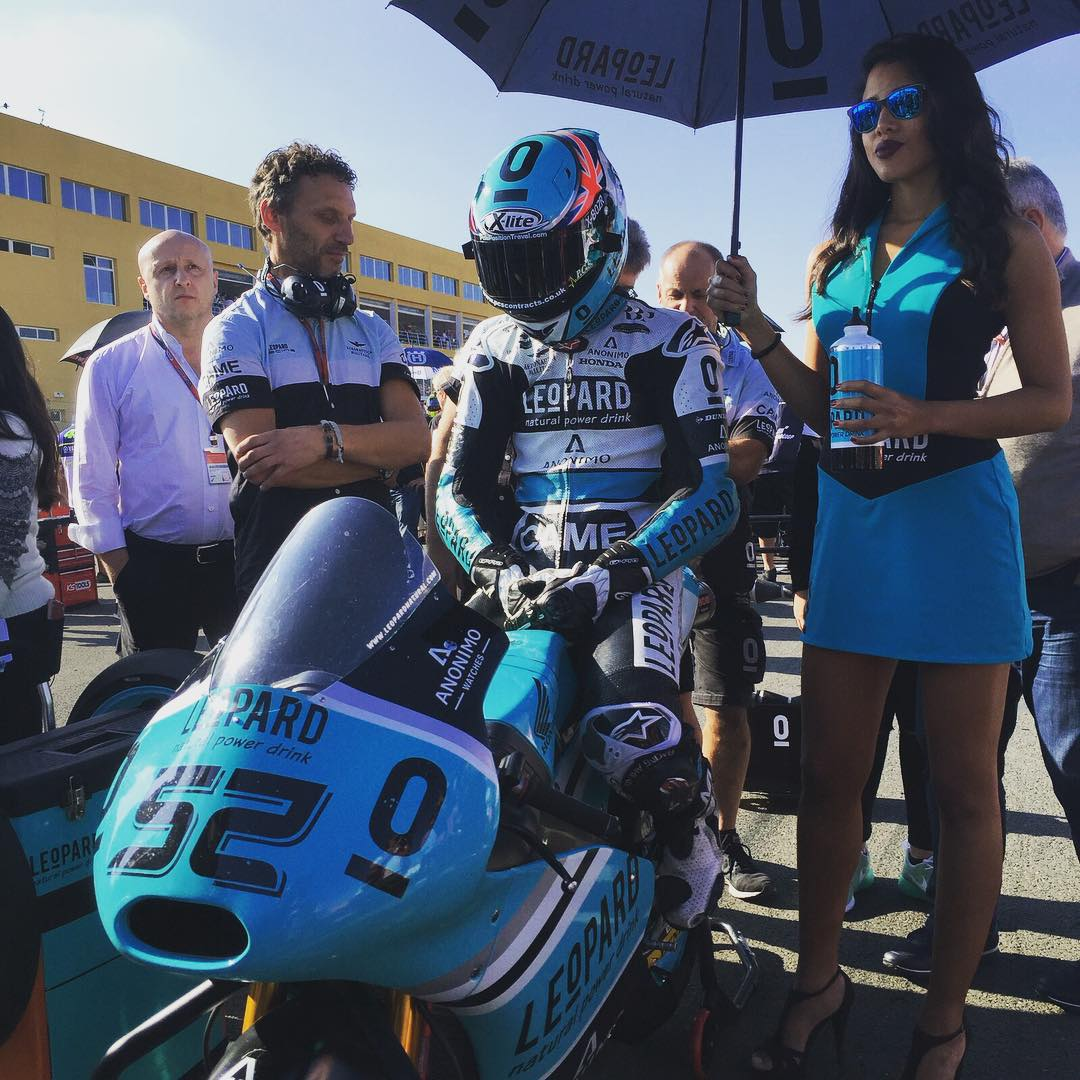 #MomentsFrom2015 | Deep in thought | @dannykent52 before clinching the 2015 Moto3 World Championship.  #ThrowbackThursday #tbt