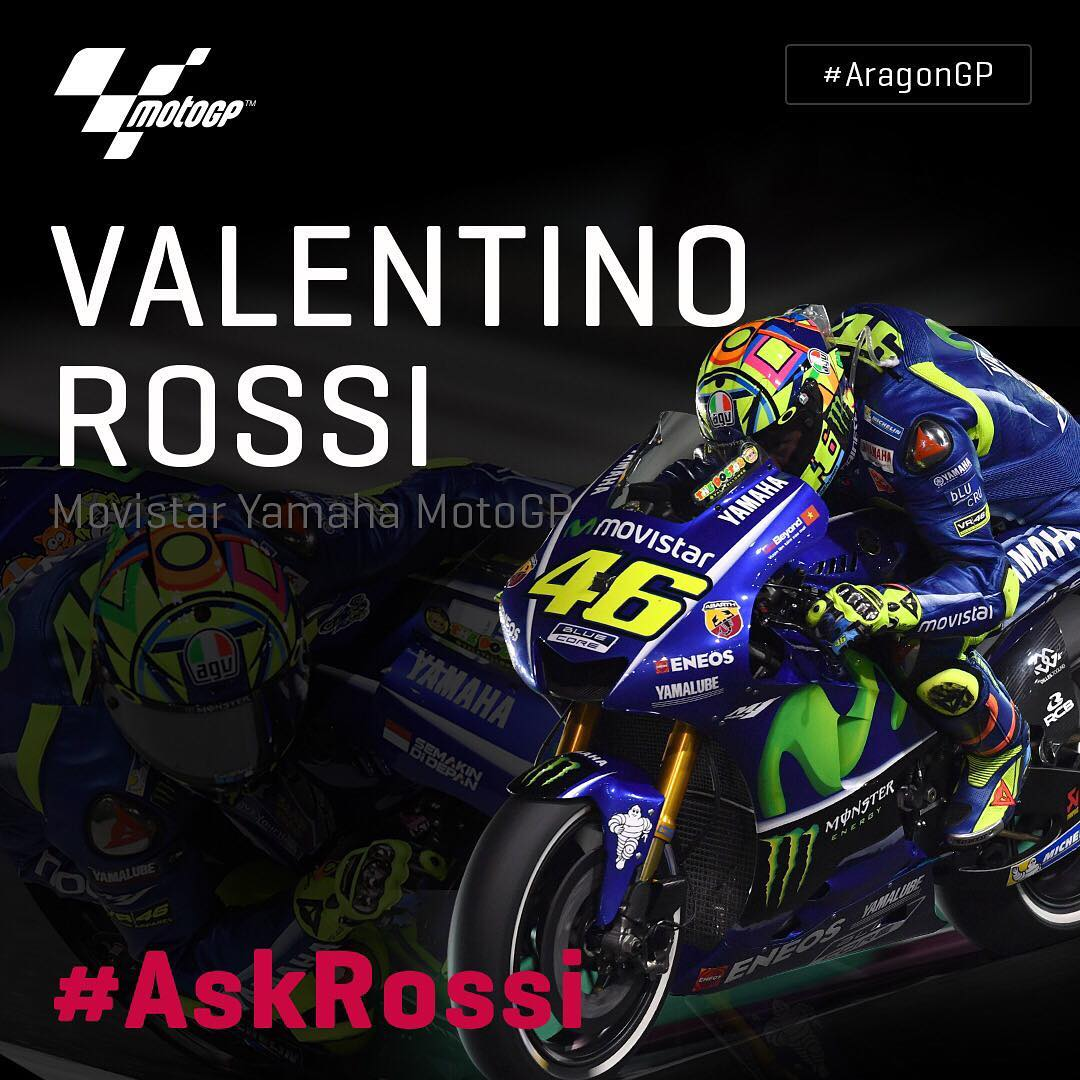 Rossi returns!  The Doctor will be in Thursdays AragonGPhellip