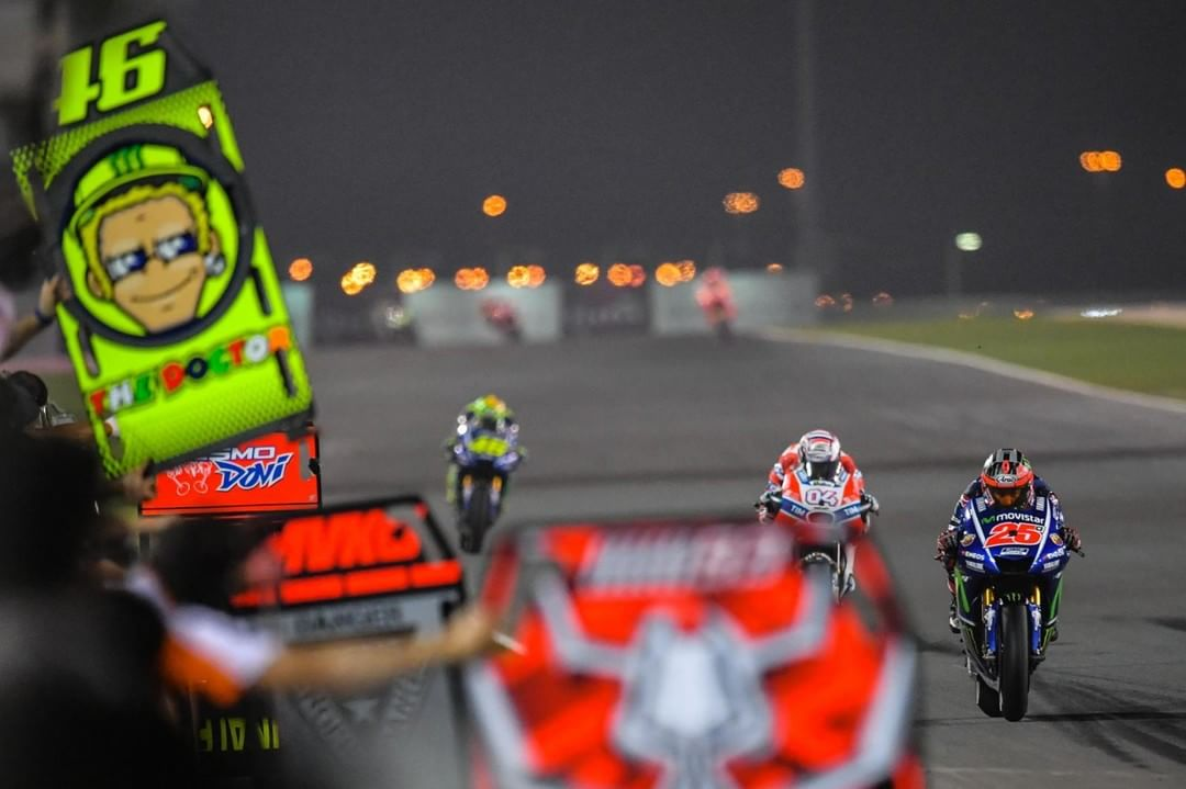 Now thats what you call a race!  QatarGP MotoGP