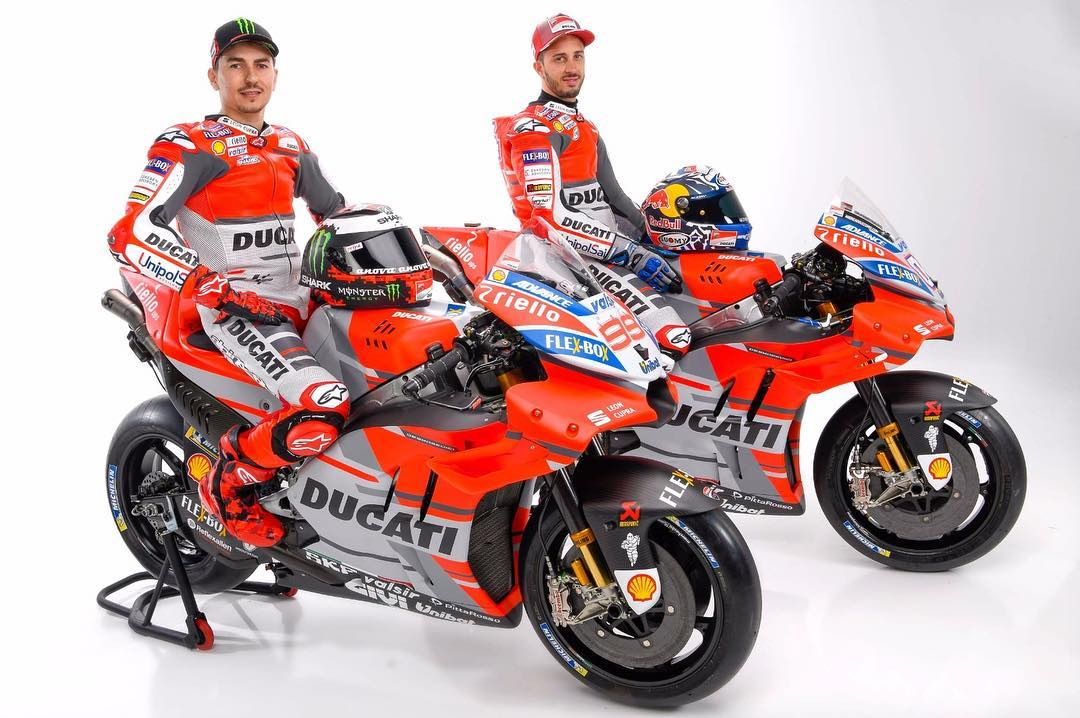 Looking fresh  ducatimotor have unveiled their new livery forhellip