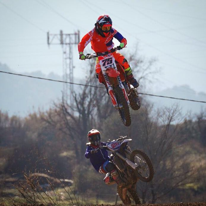 Send it  albertarenas and maverickvinales25 are out in Barcelonahellip