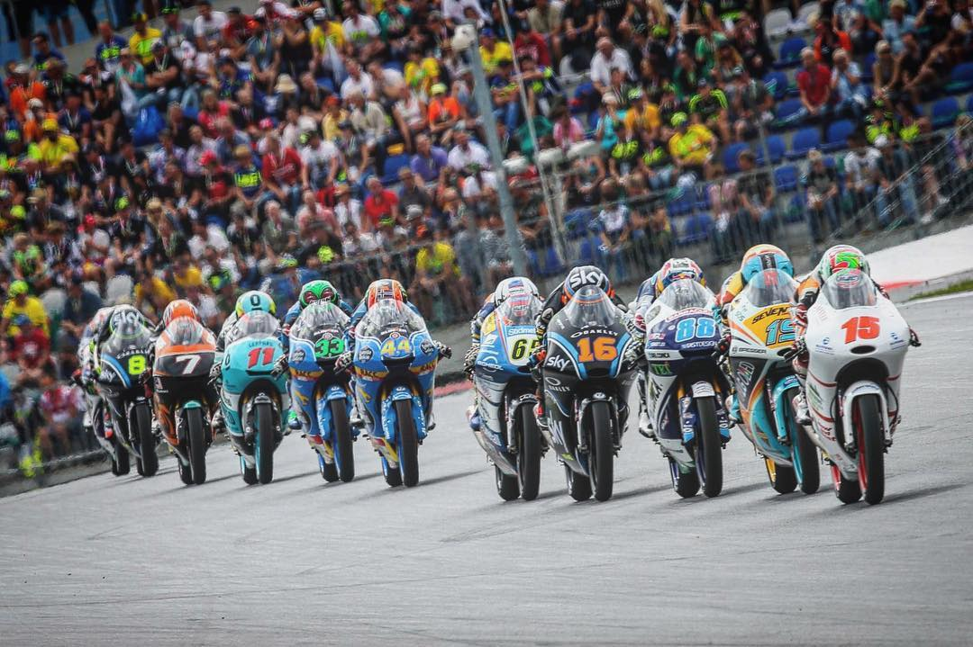 ALL ABOARD THE SLIP STREAM TRAIN  Moto3 MotoGP SlipStreamhellip